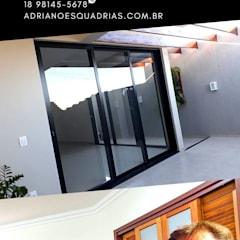 Sliding doors by Adriano Esquadrias,