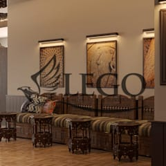 Classic event venues by Lego İç Mimarlık & İnşaat Dekorasyon Classic Wood Wood effect