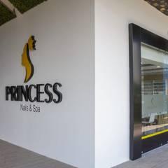 Princess Nails & Spa : Spa de estilo  por Modulor Arquitectos y Construcciones S.A. De C.V., Moderno