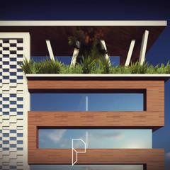 شركات تنفيذ Pedro Mendes Arq, تبسيطي خشب Wood effect