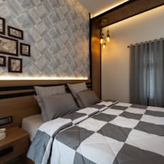 Small bedroom by Vidya Anand  Design & Decor, Modern Plywood
