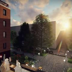 Residencia de Mayores El Parador de San Julián, en Cuenca: Edificios de oficinas de estilo  de Alfaro Arquitecto 3A3, Moderno