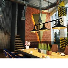 Cocinas de estilo  por SİVRİLER MOBİLYA, Industrial Madera Acabado en madera