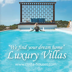 Villas by COSTA HOUSES Luxury Villas S.L · Exclusive Real Estate in Javea COSTA BLANCA Spain, Mediterranean Concrete