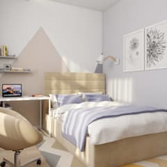 Small bedroom by 'INTSTYLE',