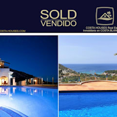 COSTA HOUSES Luxury Villas S.L. ® | Exclusive Real Estate in Javea & Costa Blanca Spain od COSTA HOUSES Luxury Villas S.L · Exclusive Real Estate in Javea COSTA BLANCA Spain Minimalistyczny