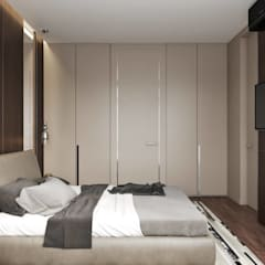 Small bedroom by 'INTSTYLE', Minimalist لکڑی Wood effect