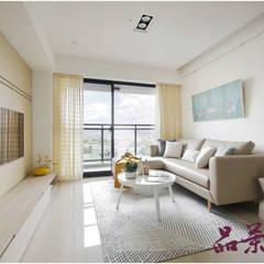 Living room by 品茉空間設計/夏川設計, Scandinavian