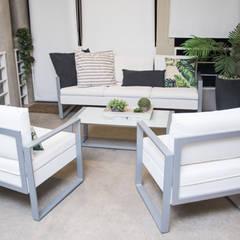 CASA DIAZ GUERRA: Jardines de estilo  por DIAZ GUERRA ESTUDIO,Moderno