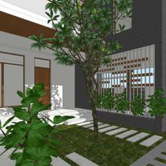 Ravi Prakash Architectが手掛けた二世帯住宅, ミニマル 鉄筋コンクリート