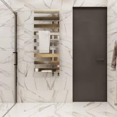ЖК «EgoDom (ЭгоДом)» Ванная комната в скандинавском стиле от 'INTSTYLE' Скандинавский Плитка