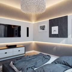 غرف نوم صغيرة تنفيذ 'INTSTYLE'