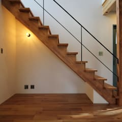 Stairs by 株式会社岡本工務店, Industrial