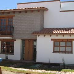 Rumah pasif oleh Forma Arquitectónica SA de CV, Rustic