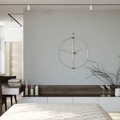 غرف نوم صغيرة تنفيذ 'INTSTYLE', كلاسيكي خشب Wood effect