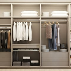 Dressing room by 'INTSTYLE', Classic Wood Wood effect