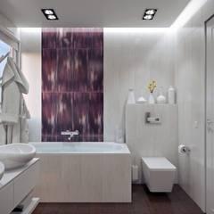 ห้องน้ำ โดย 'INTSTYLE', สแกนดิเนเวียน กระเบื้อง