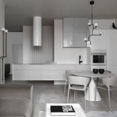 Kitchen units by iPozdnyakov studio, Minimalist