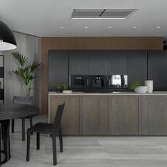 Kitchen units by iPozdnyakov studio, Minimalist Wood Wood effect