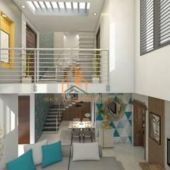 اتاق نشیمن توسطSky architects, کلاسیک