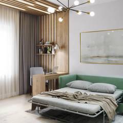 Ruang Kerja oleh DesignNika, Skandinavia