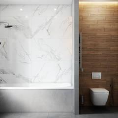 Baños de estilo  por DesignNika, Escandinavo