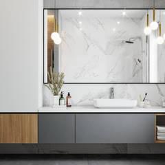 Ванная: Ванные комнаты в . Автор – DesignNika, Скандинавский