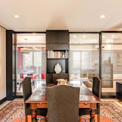 MOB ARCHITECTS Asian style dining room