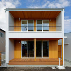 منزل خشبي تنفيذ アトリエdoor一級建築士事務所, حداثي معدن