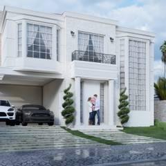 Casas unifamiliares de estilo  por HARTMANN ARQUITETOS ASSOCIADOS, Clásico