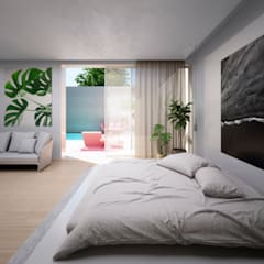La Suite perfecta para tus vacaciones: Dormitorios de estilo  de S-AART, Minimalista