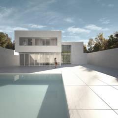 Дома на одну семью в . Автор – S-AART, Минимализм