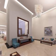 Hotels by SG Design Studio, Eclectic Concrete