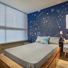 Boys Bedroom by CAJA BLANCA, Eclectic