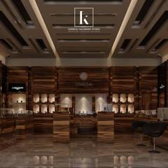 محل تجاري:  محلات تجارية تنفيذ Karim Elhalawany Studio, حداثي