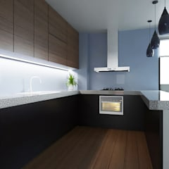 Built-in kitchens by Alexander Congonha, Minimalist Wood Wood effect