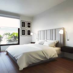 Remodelación, ampliación, construcción e implementacion de vivienda. Dormitorios de estilo minimalista de Alexander Congonha Minimalista