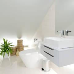 Remodelación, ampliación, construcción e implementacion de vivienda.: Baños de estilo  por Alexander Congonha, Minimalista