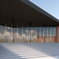 Conference Centres by GO. arquitectura & diseño, Modern