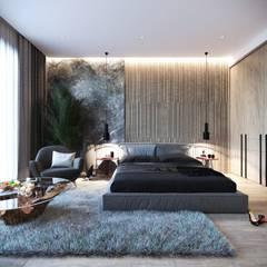Спальня: Спальни в . Автор – Студия Aрхитектуры и Дизайна 'Aleksey Marinin', Эклектичный Изделия из древесины Прозрачный