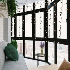 Balcón de estilo  por Dune Interiors, Escandinavo
