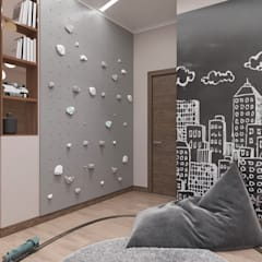 Teen bedroom by 'INTSTYLE', Scandinavian لکڑی Wood effect