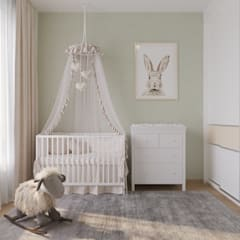 Baby room by 'INTSTYLE', Classic Wood Wood effect