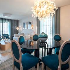 Dining room by Victor Guerra.Design, Mediterranean