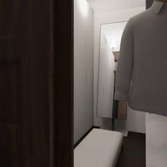 Home Staging Virtual - Venta de Apartamento sobre Planos..... Pasillos, vestíbulos y escaleras de estilo moderno de Arkiline Arquitectura Optativa Moderno Aglomerado