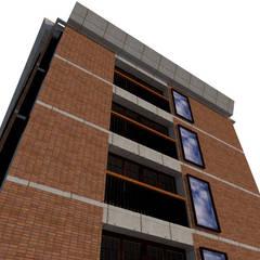Balcón de estilo  por Bioform , Colonial Ladrillos