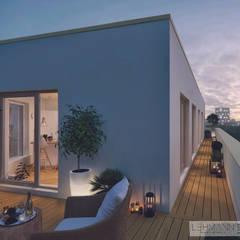 Balcony by SEHW Architektur GmbH, Minimalist
