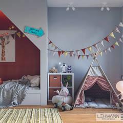 Minimalist nursery/kids room by SEHW Architektur GmbH Minimalist
