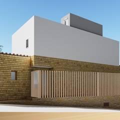 منزل عائلي صغير تنفيذ Alfaro Arquitecto 3A3 , ريفي