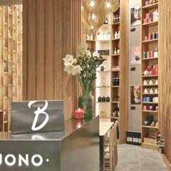 Restaurantes de estilo  por Arnia Architetture, Rústico Madera Acabado en madera